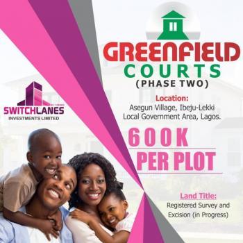 Estate Land for Sale - Green Court Ii, Green Courts 2, Asegun, Ibeju Lekki, Lagos, Residential Land for Sale