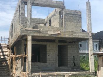 5 Bedroom Carcass Duplex, Ikota Villa Estate, Lekki, Lagos, Detached Duplex for Sale