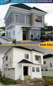 Amen Estate 3 Bedroom with Bq, Ibeju Lekki, Lagos, Semi-detached Duplex for Sale