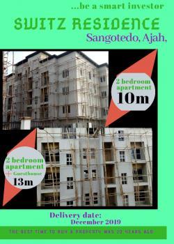 Switz Residence 2 Bedroom with Bq, Sangotedo, Ajah, Lagos, Semi-detached Duplex for Sale