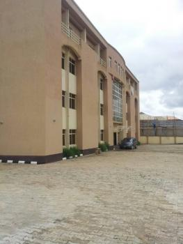 a Brand New Corporate Plaza on 4 Floors with 8 Large Wings Which Can Be Partitioned to Taste and Each Wing Has 3 Toilets., Utako District, Utako, Abuja, Commercial Property for Sale