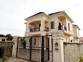 a Fairly New Tastefully Finished Fully Detached 5 Bedroom Duplex on 775sqm Land with 4 Single Rooms Bqs in Royal Gardens Estate., Royal Garden Estate, Ajiwe, Ajah, Lagos, Detached Duplex for Sale