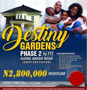 Destiny Gardens Land, Along Akodo Road, After The Free Trade Zone, Lekki Free Trade Zone, Lekki, Lagos, Mixed-use Land for Sale