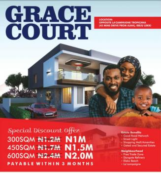 Grace Courts Estate Land, Lacampaigne Tropicana. 55 Minutes Drive From Ajah, Ibeju Lekki, Lagos, Mixed-use Land for Sale