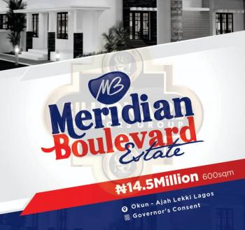 Meridian Boulevard Estate Land, Okun, Ajah, Lagos, Mixed-use Land for Sale