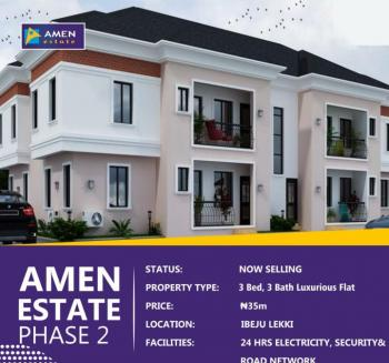 3 Bedroom, Ibeju Lekki, Lagos, Block of Flats for Sale