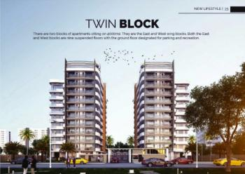 3 Bedroom Flats with Maids Room in State of The Art Twin Towers (off Plan), End of Freedom Way After This Present House Church, Lekki Phase 1, Lekki, Lagos, Block of Flats for Sale