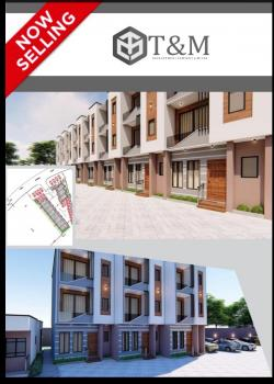 British -style 3 Bedroom Town Houses, Badore, Ajah, Lagos, Terraced Duplex for Sale