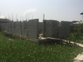 Half Plot of Land with an Uncompleted Two Nos 3 Bedroom Flats at Lintel Level, Seagate Estate, Lekki, Ajah, Lagos, Residential Land for Sale