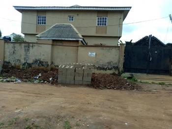 Luxury Storey Building Consisting of 4 Bedroom Plus 2 Mini Flats and a Room Self Contained, Aiyetoro  Via Ayobo, Atan Ota, Ado-odo/ota, Ogun, Block of Flats for Sale
