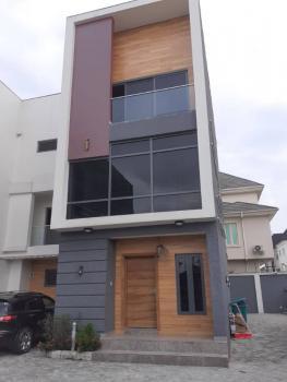 Brand New Tastefully Finished 4 Bedroom Terraced Building on 2 Floors, Agungi, Lekki, Lagos, Terraced Duplex for Sale