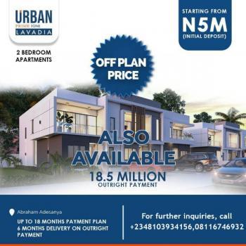 Lavadia 2 Bedroom Apartment, Ogombo, Road., Abraham Adesanya Estate, Ajah, Lagos, Mini Flat for Sale