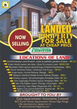 Amazing Landed Property, Enugu-onitcha Express Way, Abakpa Nike, Enugu, Enugu, Mixed-use Land for Sale
