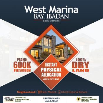 West Marina Estate, Elebu Extension, Akobo, Ibadan, Oyo, Land for Sale