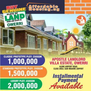 Apostle Landlord Villa Estate Land, Close to Sam Mbakwe Airport., Owerri, Imo, Mixed-use Land for Sale