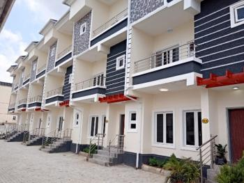 Newly Built 4 Bedroom Terraced Duplex with Balconies, 2 Living Rooms, Guzape District, Abuja, Terraced Duplex for Sale