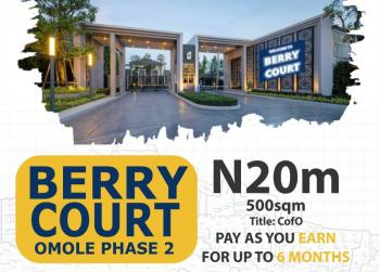 Berry Court Land, Sharing Fence with Magodo Estate, Gra, Magodo, Lagos, Residential Land for Sale