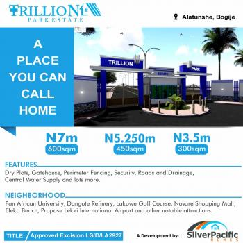 Trillion Estate:this Estate Is Great Investment for Buy,build and Land Banking. Giving Out 1000 Free Block for Instant Construct, Alatishe Town Bogije, Lekki - Epe, Epe, Lagos, Mixed-use Land for Sale