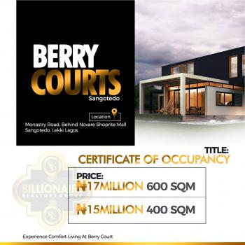Berry Court, Sangotedo, Ajah, Lagos, Mixed-use Land for Sale