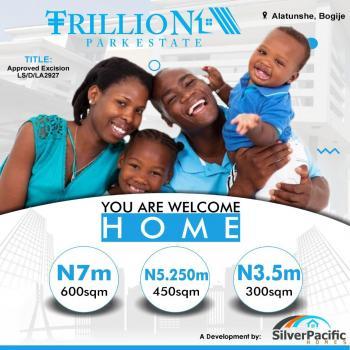 Plot of Estate Land 600 Sqm, Trillion Park Estate, Bogije, Ibeju Lekki, Lagos, Residential Land for Sale