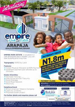 Plot, Arapaja ,akala Express Road,new Garage,ibadan, Challenge, Ibadan, Oyo, Mixed-use Land for Sale