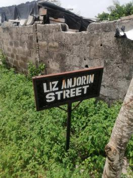Dry Land with Foundation, Liz Anjorin Street, Ogombo, Ajah, Lagos, Land for Sale