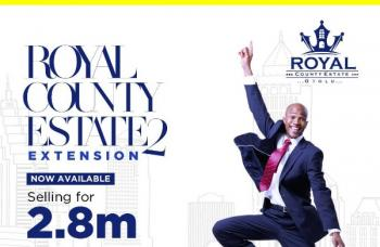 Royal County Estate, Beautiful Layout, Completely Dry Land. Instant Allocation. Buy and Build Land, Along The Lekki Free Trade Zone, Few Minutes After The Multi Billion Dollar Dangote Refinery and Before The Prestigious La Campaign Tropicana Beach Resort, Lekki Free Trade Zone, Ibeju Lekki, Lagos, Mixed-use Land for Sale