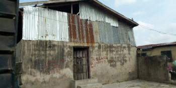Delapitatted Building. Title: Family Receipt and Survey Plan, Alhaji Davies Street, Iganmu, Lagos, Hall for Sale