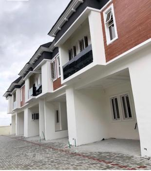 Brand New Solidly Built 4 Bedroom Terraced Duplex with Building Approval Highly Suitable for Client with Mortgage Plans, Chevron, Lekki Expressway, Lekki, Lagos, Terraced Duplex for Sale