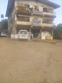 Solid Commercial Building of 3 Floors in a Very Spacious, Paved, Fully Fenced Gated Premise with Tarred Highway Access, Podo, Old Lagos Road, Ibadan, Oyo, Plaza / Complex / Mall for Sale