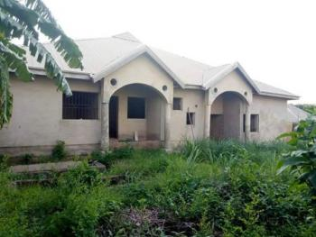 Modern, Classy, 60% Completed Bungalow Comprising 4 Nos 2-bedroom Apartments, Close to Richbam, Kuola, Akala Expressway, Ibadan, Oyo, Semi-detached Bungalow for Sale