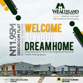 3 Bedroom Flat Newly Built, Oribanwa, Ibeju Lekki, Lagos, Block of Flats for Sale