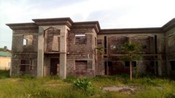 Luxury 6 Bedroom Semi Detached Duplex Carcass, Behind Ebeano Supermarket, Gaduwa, Abuja, Semi-detached Duplex for Sale