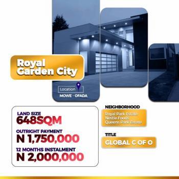 Royal Garden City Land, Mowe Ofada, Ogun, Land for Sale