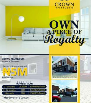 Crown Apartments, Sangotedo, Ajah, Lagos, Terraced Duplex for Sale