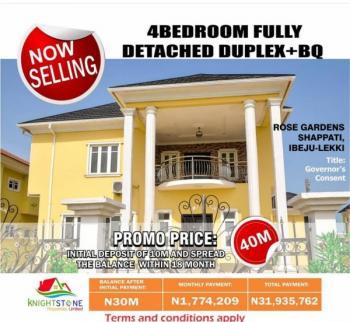 4 Bedroom  Duplex with Bq, Shapati, Ibeju Lekki, Lagos, Detached Duplex for Sale