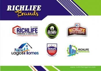 Richlife Estate and Gardens Land, Phase 1 (beside Larfarge Staff Estate, Lapeleke Town, Ewekoro, Ogun, Commercial Land for Sale