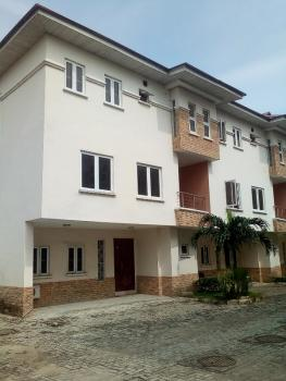 a Spectacular 4 Bedrooms Duplex with a Bq, By Second Toll Gate, Lekki, Lagos, Terraced Duplex for Rent