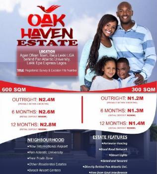 Estate Land, Sharing Fenced with Pan Atlantic University, Eleko, Ibeju Lekki, Lagos, Residential Land for Sale