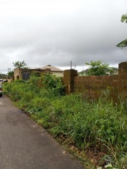 a Corner Piece Bare Land of 120ft By 130ft, on a Tarred Road, Etete Layout, Gra, Benin, Oredo, Edo, Mixed-use Land for Sale