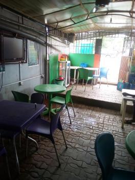 Functional  Restaurant and Bar with Freezer and Gen  Along The Road, Klm 5 Isheri Igando Lasu, Igando, Ikotun, Lagos, Restaurant / Bar for Rent