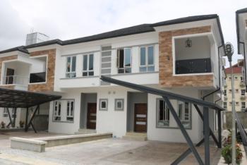 Luxury Brand New, Serviced 4 Bedroom Semi-detached House, Chevron, Lekki, Lagos, Semi-detached Duplex for Sale