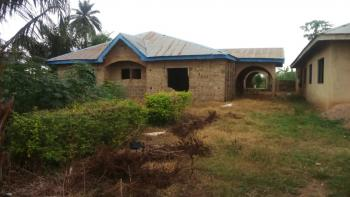Uncompleted 4 Bedroom Flat at Store Community Face Major Road, Idanre Road, Akure, Ondo, House for Sale