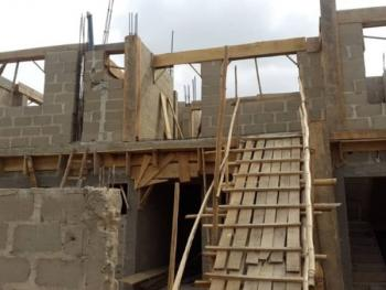 an Uncompleted 4 Bedroom Flat Sitting on One and Half Plot of Land, Ikorodu, Lagos, Flat for Sale