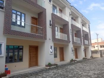 Newly Built and Well Finished 5 Units of 4 Bedroom Terraced Duplex with a Room Bq, Fitted Kitchen, Swimming Pool, Lekki Right, Lekki Phase 1, Lekki, Lagos, Terraced Duplex for Sale
