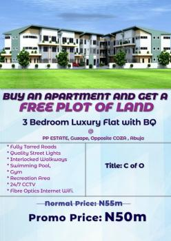 3 Bedroom Apartments at Pp Estate, Guzape, Abuja, Guzape District, Abuja, Block of Flats for Sale