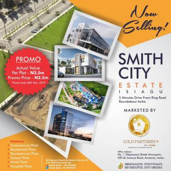 Smith City Housing Estate|by Gold Partners®, 5minutes Drive From Ring Road Roundabout, Awka, Anambra, Residential Land for Sale