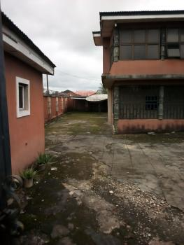 Massive 7 Bedrooms Duplex on a Land of 100x110 Along Tarred Road, Off 2nd Ugbor, Benin, Oredo, Edo, Detached Duplex for Sale