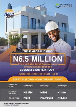 Plot of Land with C of O Beach Wood Estate, Bogije, Ibeju Lekki, Lagos, Land for Sale