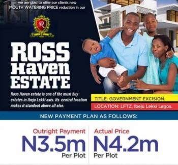 Ross Haven Estate, Lftz, Mafogunde, Ibeju Lekki, Lagos, Mixed-use Land for Sale